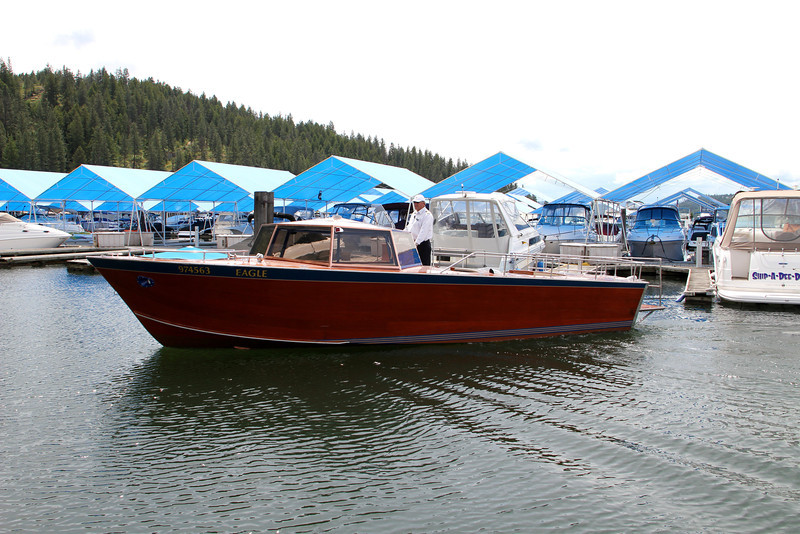 The Couer d'Alene Resort, Couer d'Alene, ID - Boat from Resort Hotel to Golf Course