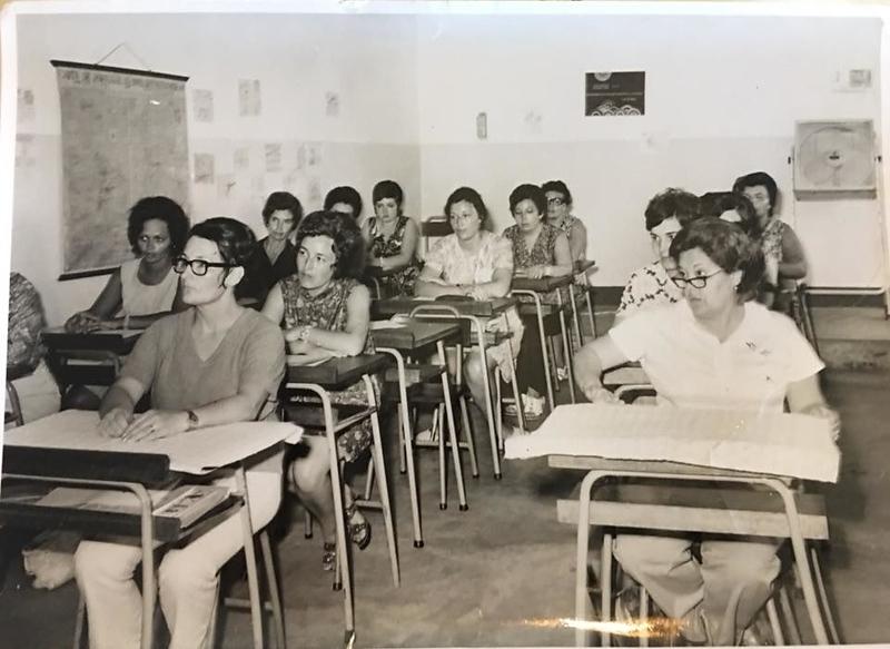 Treino de professoras primarias