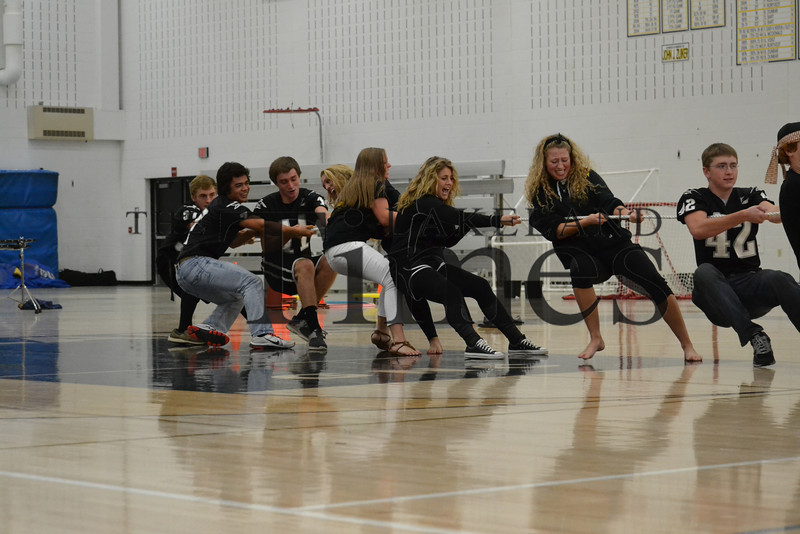 LUHS Homecoming pep assembly