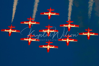 Snowbirds CT-114 Tutors