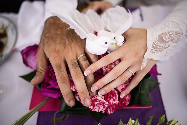 Mariage d'Aline et Rafi
