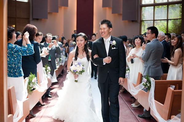 Jenny and James' Wedding - Trinity Presbyterian Church in Toronto, Ontario