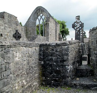 The Augustinian Abbey Ruin, Ballinrobe