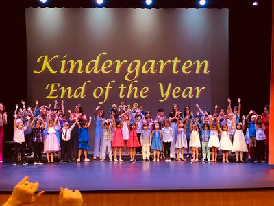 2018 Kindergarten End of Year Ceremony