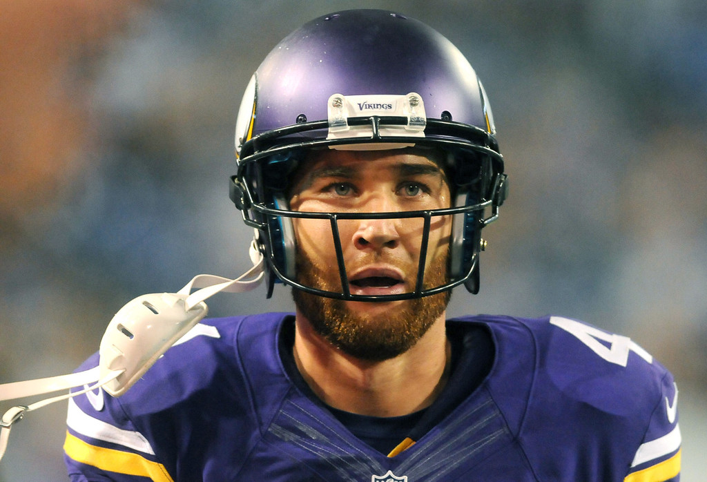 . Vikings quarterback McLeod Bethel-Thompson comes off the field after a series the fourth quarter against the Titans. The third-string quarterback completed 19 of 26 passes for 187 yards, with one touchdown and one interception.  (Pioneer Press: Sherri LaRose-Chiglo)