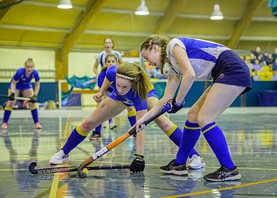 Under 18 Girls Indoor Championship.