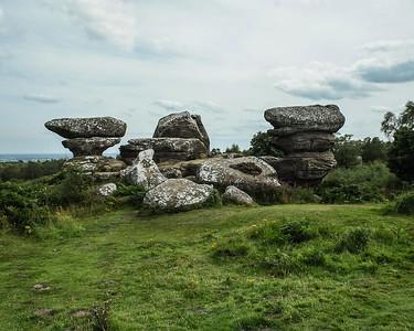 NT Brimham Rocks Yorkshire