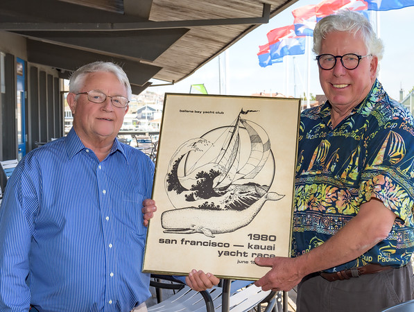 John Tysell shares memories of the first Pacific Cup with PCYC Staff Commodore, Steve Chamberlin