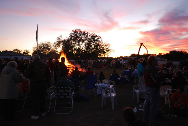 Spruce Creek Bonfire 2009