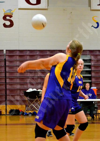 Volleyball; Bucksport vs Ellsworth; 9/25