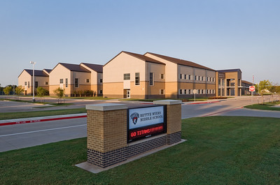 Myers Middle School, Sandy Shores, TX.  Client:  VLK Architects, Fort Worth, TX.