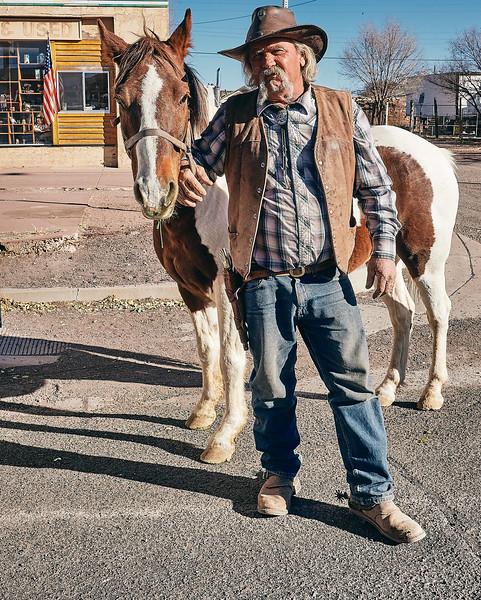 Route 66 - Dale, Horse Trainer, Seligman, Arizona