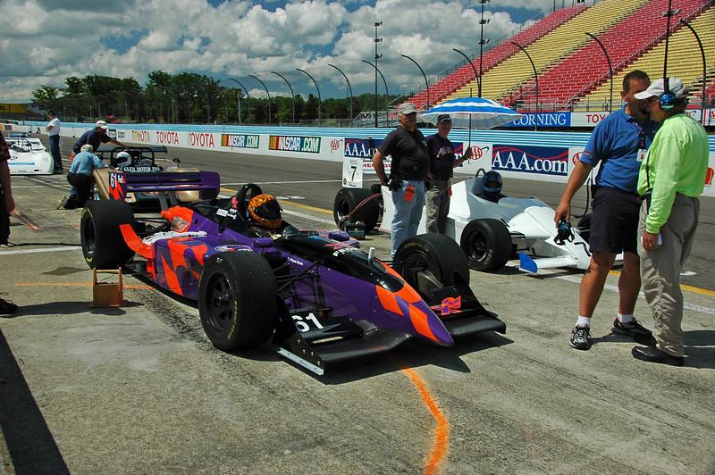 Ted Wenz / 1996 Reynard Champcar   Eddie Claridge / 1982 Theodore TY02 F1