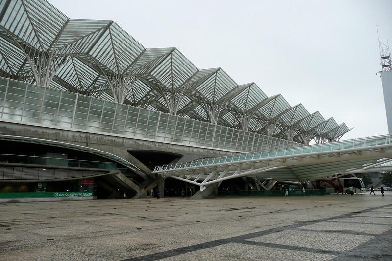 Estação do Oriente. Parque das Nações, Lisbon