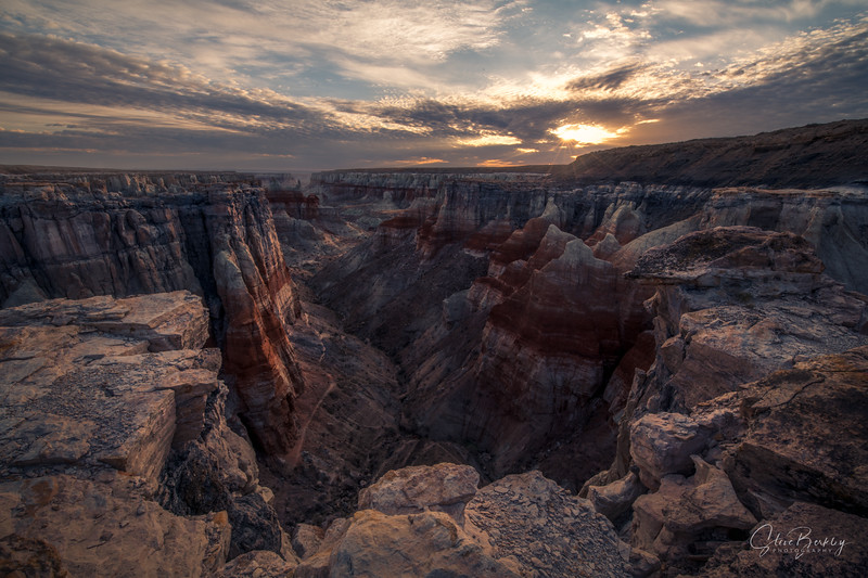 Coal Mine Canyon Sunrise IV
