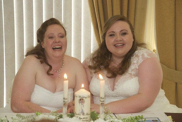 Fiona and Caroline Wedding