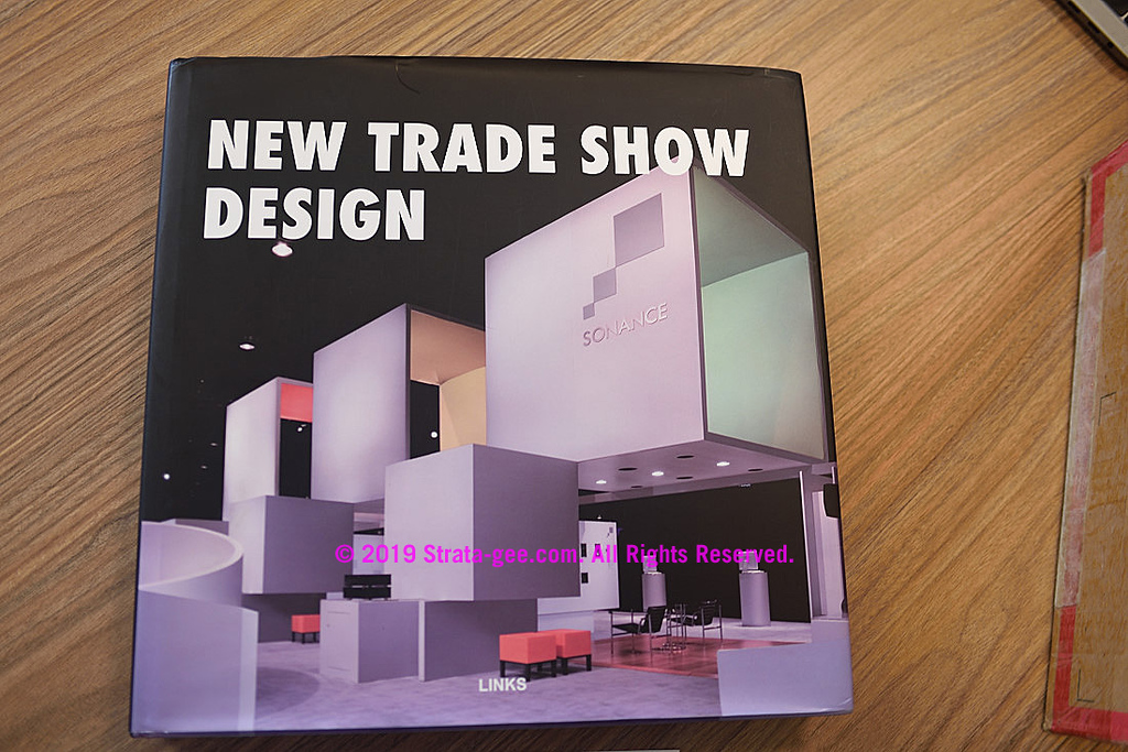 Trade show book with 2006 Sonance logo