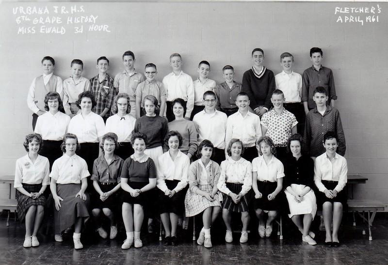 UJHS 8th Grade -3 Ewald