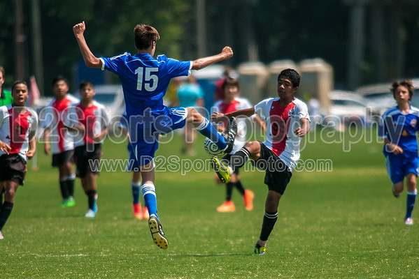 TRIAD ELITE vs IFC STRIKERS - U14 boys 8/16/2014