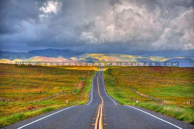 Highway 58, Carrizo Plain & Soda Lake