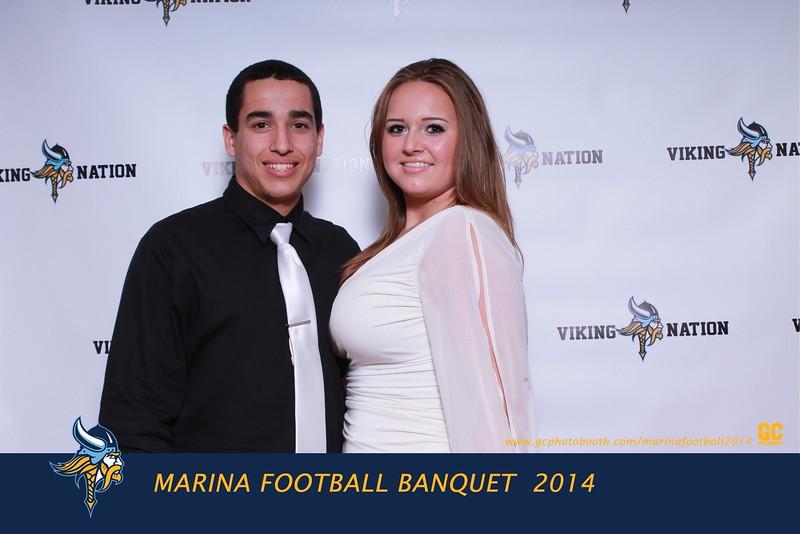 Marina Football Banquet 2014