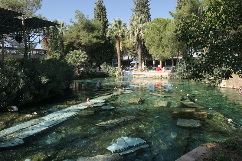 Cleopatra's Ancient Pool, Hierapolis