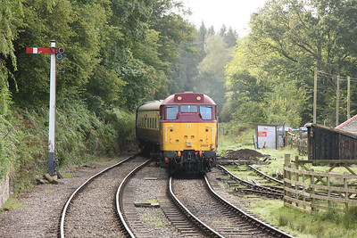 15th - 16th September 2012 Dean Forest and Gloucestershire Warwickshire Railways