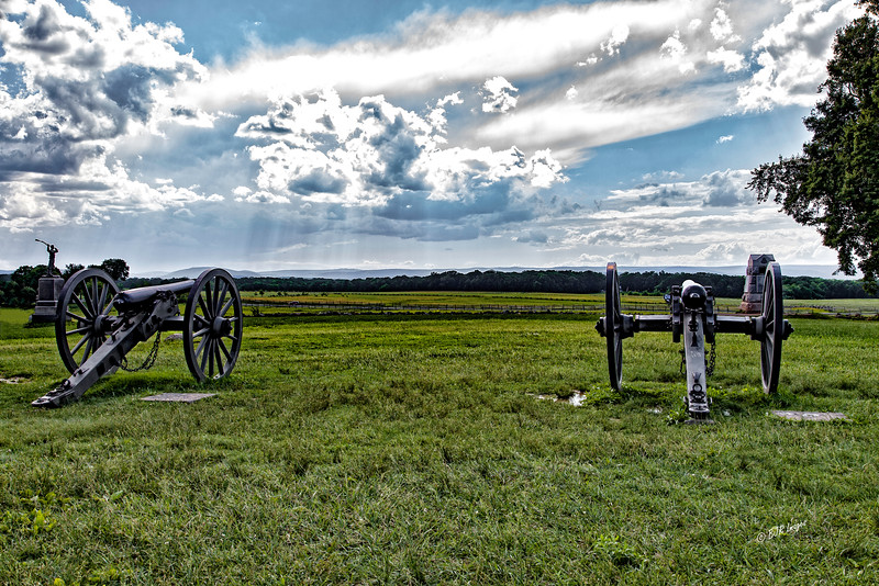 Union Line during Picketts Charge