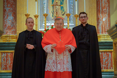 Raymond Cardinal Burke Pontifical High Mass
