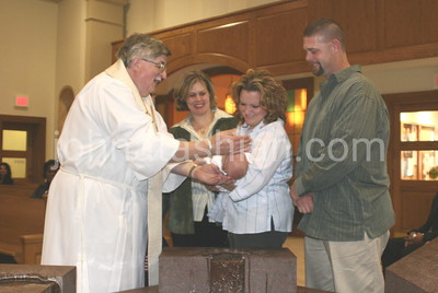Baptism of Betty Boukus' Granddaughter -  October 17, 2004
