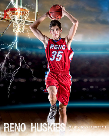 RHS VARSITY BOYS Basketball Portraits