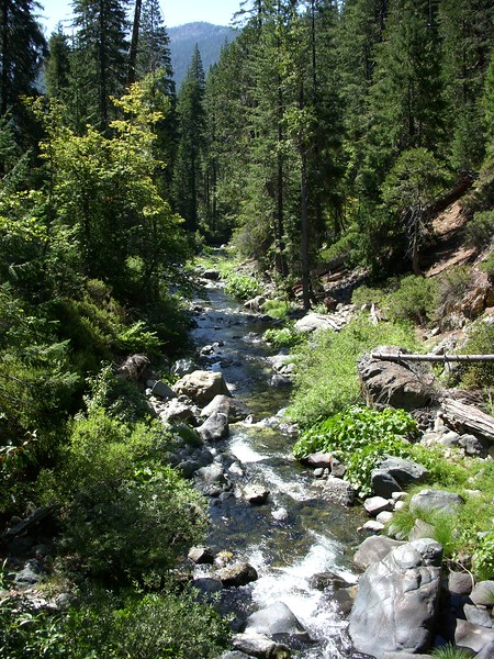 Hodges Cabin Trinity Alps Wilderness California