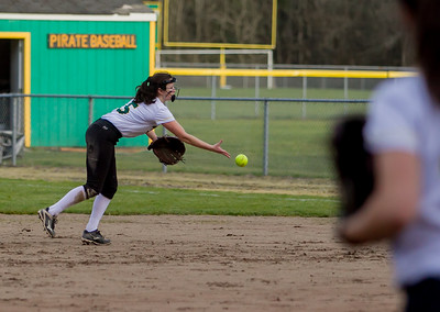 Set seven: Vashon Island High School Fastpitch v Rainier Christian