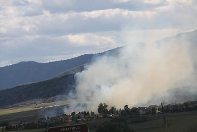 Trailmark Parkway Brush Fire