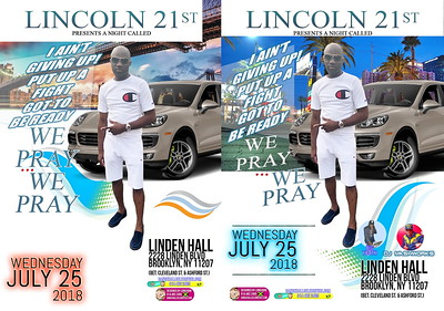 """LINCOLN 21st """"I AIN'T GIVING UP!  2018""""(15)"""