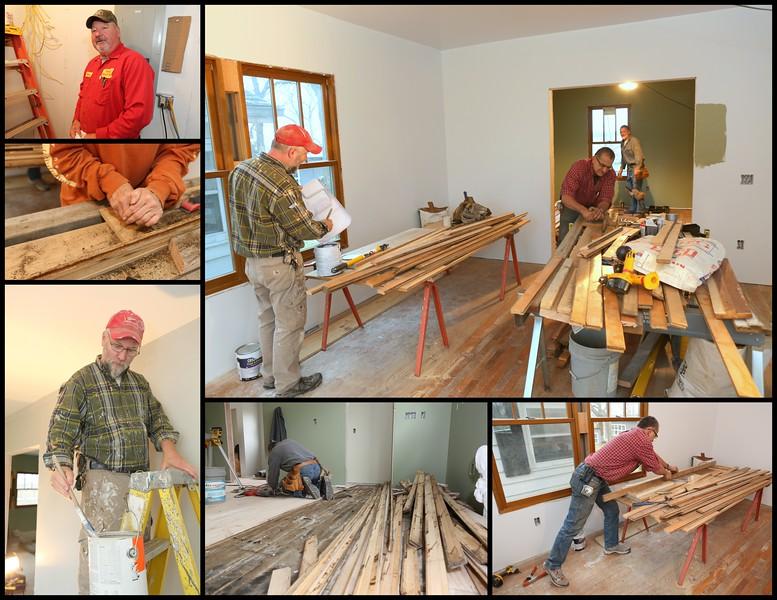 November 30th, 2016 - Painting, Plumbing, Floors, Wood prep - full steam ahead