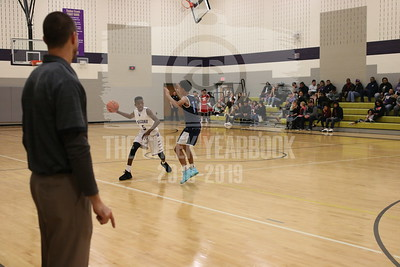 November 13, Boys Basketball vs Bell
