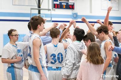 2-21-19 Garber Boys Freshman Basketball