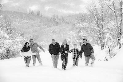 Brinkerhoff family Snowy Snow Basin
