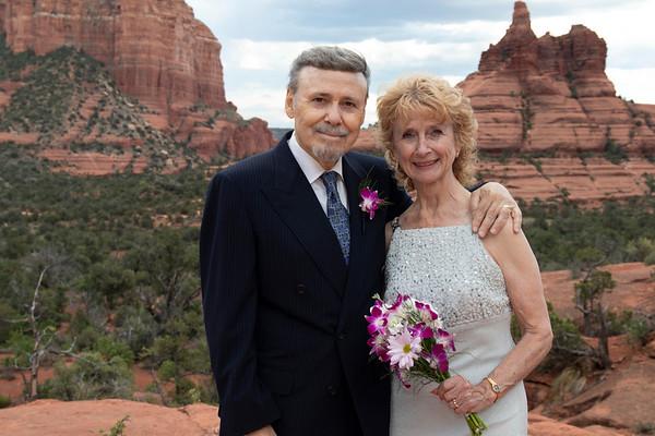 Kay and Gordon's Sedona Wedding