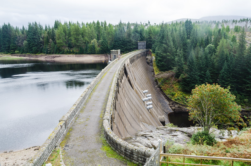 Laggon Dam Highlands of Scotland