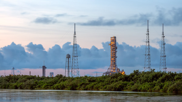 Space Launch Pads 39A and 39B