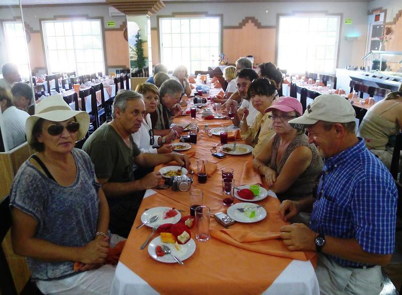 Chichen Itza - 13 Lunch time