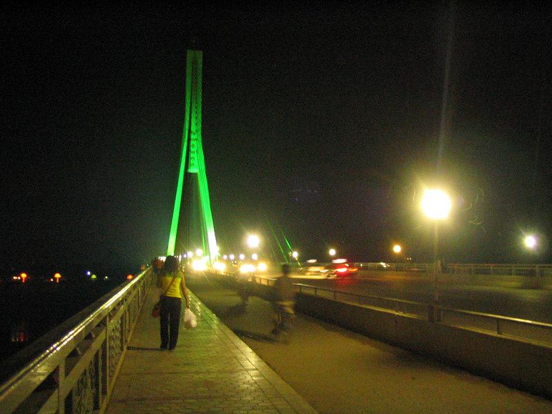 Bridge in Jinghong.