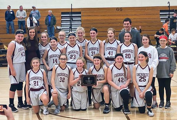 Cherokee Wins 7th Grade City Championship