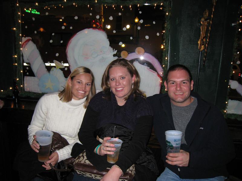 Stephanie, Lauren, Jon