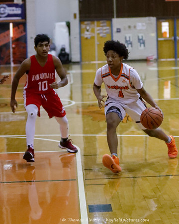 Boys Frosh Basketball v Annandale 1/31/20