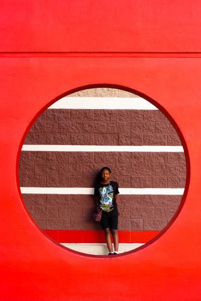Hanging at Target