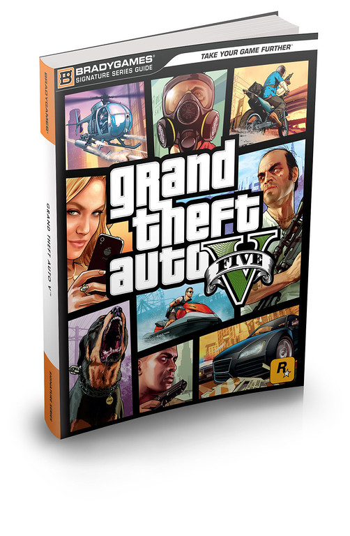 . BradyGames Announces Grand Theft Auto V(TM) Strategy Guides.  (PRNewsFoto/BradyGames)