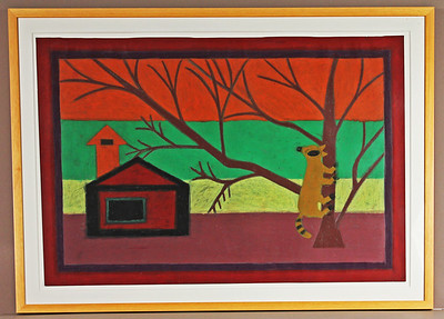 Eddie Arning Paintings